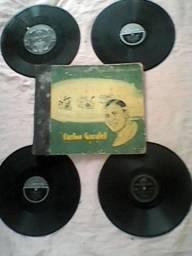 Carlos gardel / discos de chumbo
