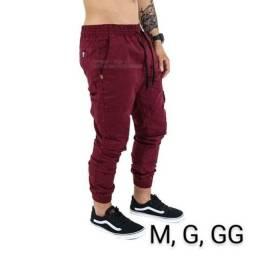 Calça jogger sarja masculina