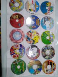 DVD's filmes infantis - só a mídia