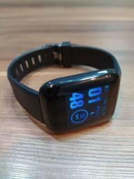 Smartwatch D13 novo! Preto e azul