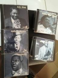 Coleção incompleta de CDs Mestres do Blues