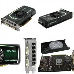 Placa de Vídeo Evga Nvidia GeForce Gtx 550ti 1 GB
