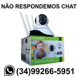 Título do anúncio: Câmera Wi-Fi Robô Giratória 360º - Fazemos Entregas