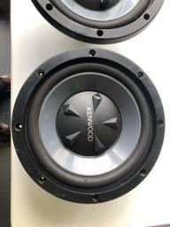 Auto falantes de 12 pol kenwood 800 wats