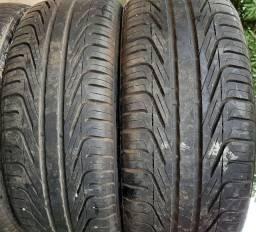 Vendo 4 pneu 205 40 17 perfil ouro difícil de acha.