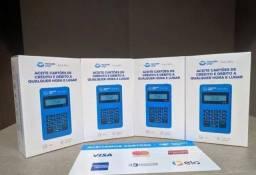 Máquina de cartão débito e crédito