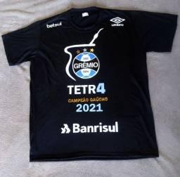 Camiseta do grêmio tetra