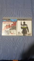 COD Mw3 + Nfs Most Wanted - PS3