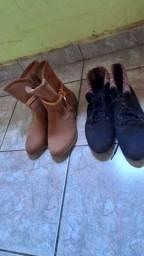 2 botas femininas