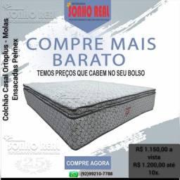 Título do anúncio: Promoção Pelmex de Colchão Casal com molas Ensacadas Ortoplus