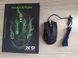 Mouse Gamer H'maston 6 botões
