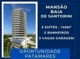 |Patamares| Mansão Baia de Santorini - 3 suítes, 145 m², bem localizado