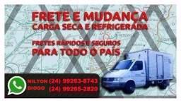 Título do anúncio: Frete, telefones na foto, mudanças, Petrópolis, Rio