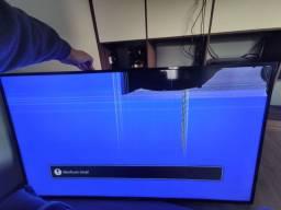 "Smart TV 55"" Philips Ambilight 4K *Com Defeito* Aceito Troca*"