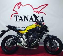 Título do anúncio: Yamaha MT-07 Amarelo com Abs