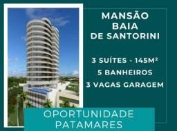 |Patamares| Mansão Baia de Santorini - 3 suítes, 145 m²