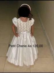 Título do anúncio: Vestido festa Petit Cherie 4 anos
