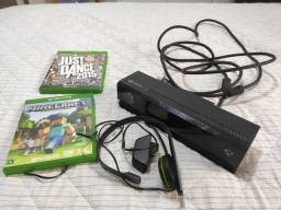 Kinect Xbox One + Headset + Just Dance