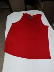 Camisa regata da Polo Ralph Lauren GG