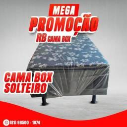 CAMA BOX SOLTEIRÃO PRONTA ENTREGA