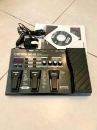 Pedaleira Boss ME-25 + Fonte Original, Manual e Driver ME25