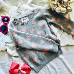 Casaco de tricô tamanho 3