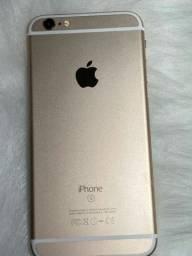 Iphone 6S 32gb Dourado Ótimo Estado + Cabo USB
