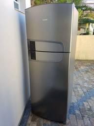 Geladeira inox 437 litros