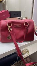 Bolsa Pink baú marca DKNY IMPORTADA DO EUA