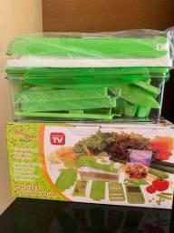 Novo Fatiador de Legumes, verduras e frutas Entregamos Hj Msmo