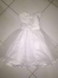 Título do anúncio: Vestido branco de festa
