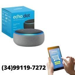 Título do anúncio: Alexa Echo Dot 3º Geração - Poucas Peças