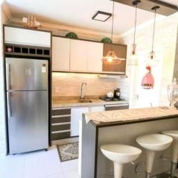 Apartamento no bairro Municípios divisa com Vila Real - 1 suíte + 1 dorm + 2 vagas