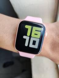 Relógio Smartwatch X8 rosa