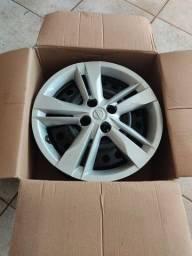 Título do anúncio: Vendo conj. de roda original Nissan kicks aro 16