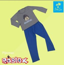 Pijama Roblox manga longa
