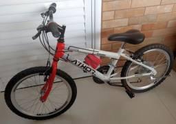 Título do anúncio: Bike infantil aro 20 nova sem uso para sair hoje!