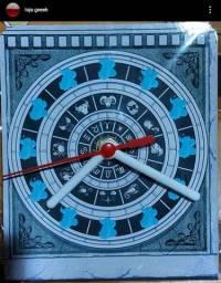 Relógio de mesa cavaleiros do zodíaco