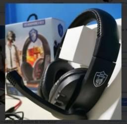 Fone Gamer Headphone Para Celular Ps3 Ps4 Pc Notebook Smartphones