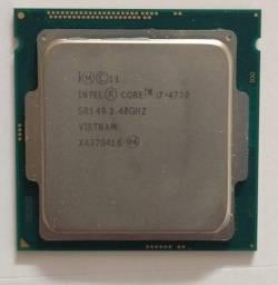 Processador Gamer Intel Core i7-4770 3.4GHz de frequência com gráfica integrada