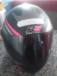 vendo capacete pro tork R8 no plástico tamanho 58
