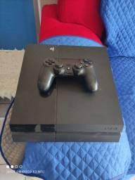 PS4 slim com 1 controle