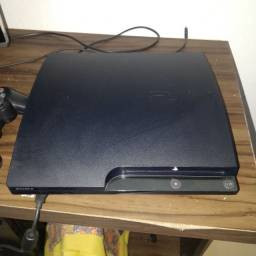 Título do anúncio: Playstation 3 /  PS3 Slim Destravado Evilnat topado!