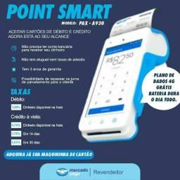 Máquina de Cartão Point Smart Mercado Pago