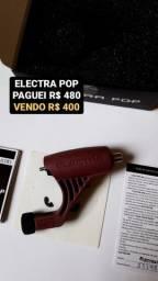 Kit Tattoo - Máquina Electra Pop + Pedal + Fonte