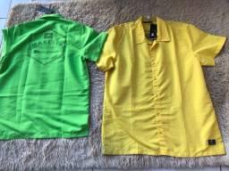Camisa de botão Maresia na promoção