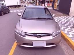 Título do anúncio: Honda Civic LXS Automático Dourado 2007