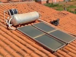 Aquecedor  de agua solar