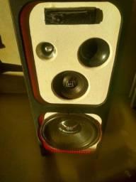caixa amplificadora com módulo