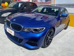 BMW 330i M Sport 2.0 TB - 2021 -Azul Portimao - Impecavel